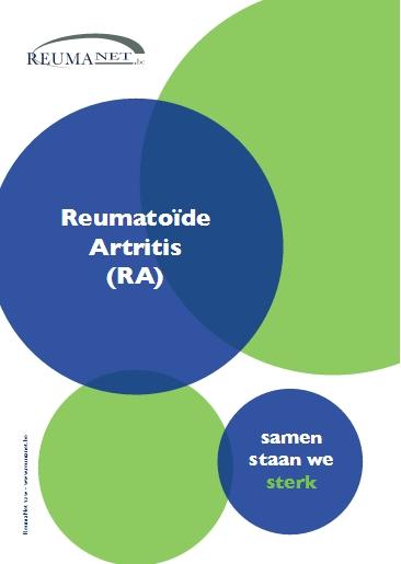 Nieuwe brochure reumatoïde artritis