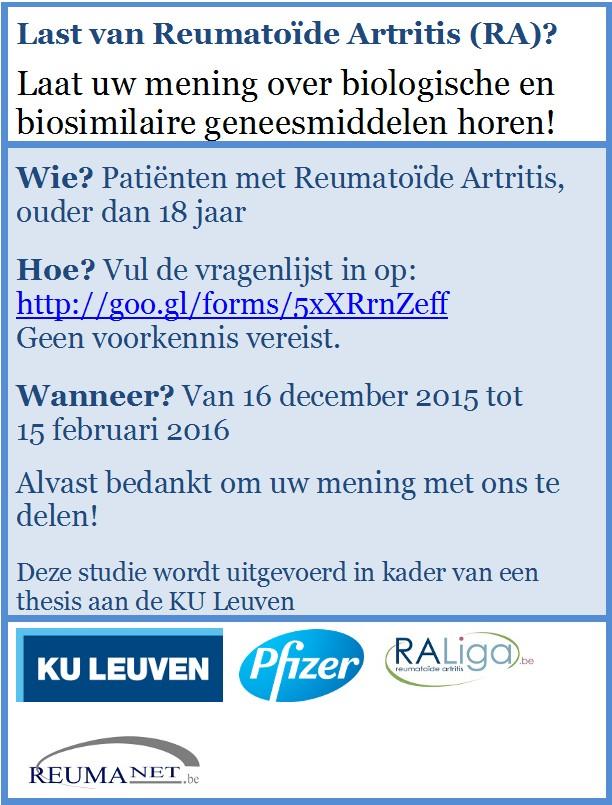 enquête biologische en biosimilaire geneesmiddelen