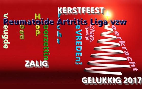 Zalig Kerstfeest En Gelukkig Nieuwjaar Reumatoide Artritis Liga Vzw