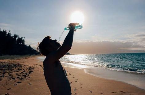 Blijf gehydrateerd!