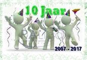 10 jaar jubileum RA Liga vzw: 2007-2017