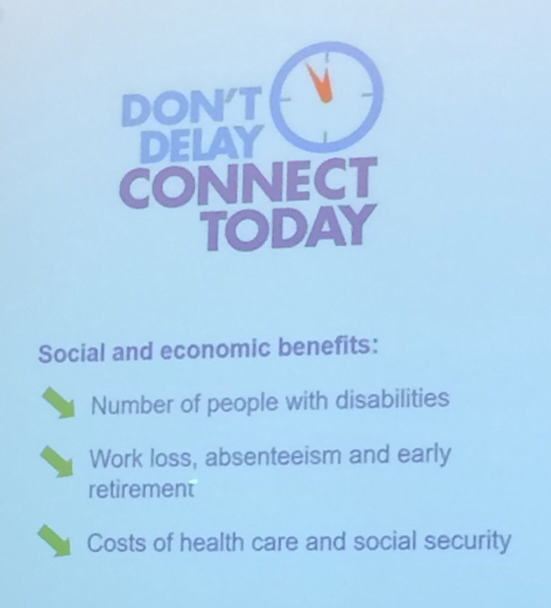 EULAR PARE CONGRES - Don't Delay, Connect Today
