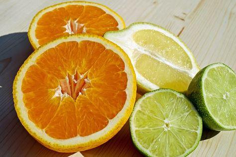 Sappige citrusvruchten