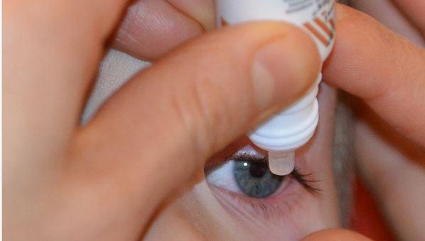 Droge ogen door te weinig traanvocht