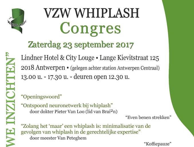 Congres vzw Whiplash