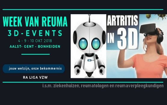 3D events RA Liga week van reuma