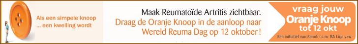 Oranje Knoop - Een initiatief van Sanofi in samenwerking met RA Liga vzw