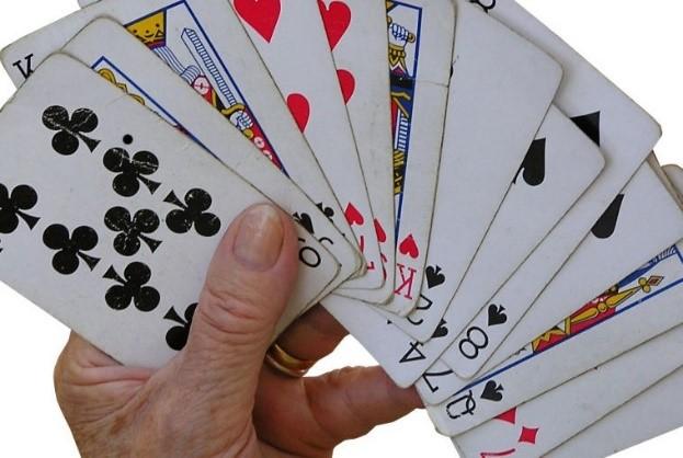Leven is een kaartspel