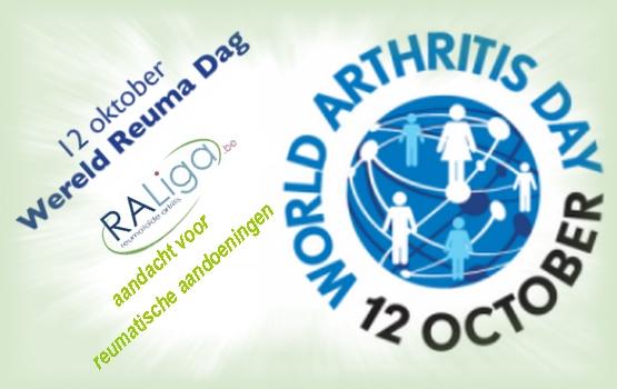 wereld reuma dag 12 oktober 2016