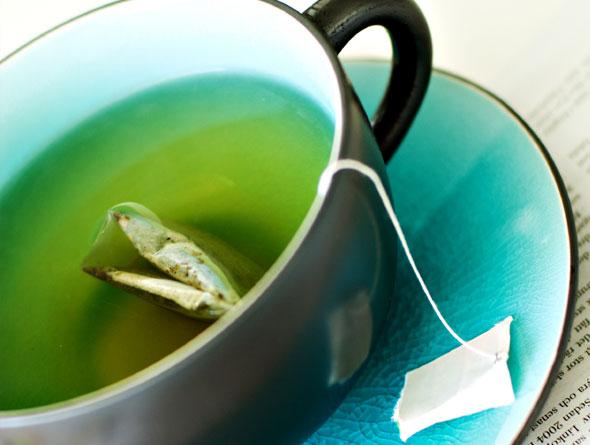 Drink groene thee!